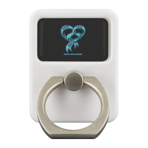 Hope Love Faith Prostate Cancer Awareness Phone Ring Holder Kickstand Gifts Idea-Ringr - Multi-Tool Accessory-Ringr - Multi-Tool Accessory-JoyHip.Com