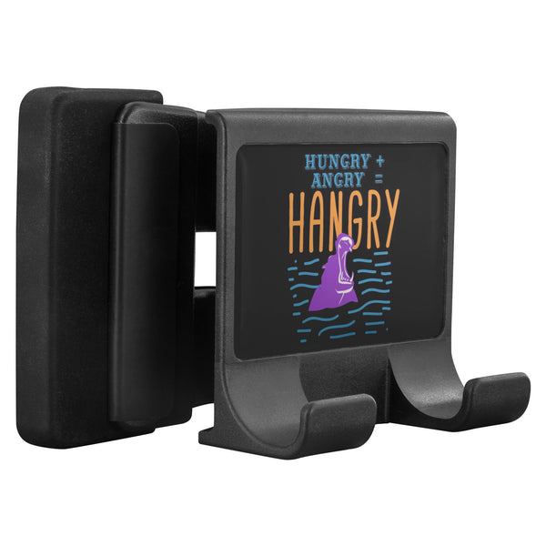 Hungry Angry Hangry Hippo Funny Phone Monitor Holder Laptop Desktop Humor Gift-Moniclip-Moniclip-JoyHip.Com