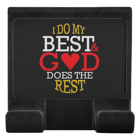 I Do My Best & God Does The Rest Christian Cell Phone Monitor Holder Laptop-Moniclip-Moniclip-JoyHip.Com