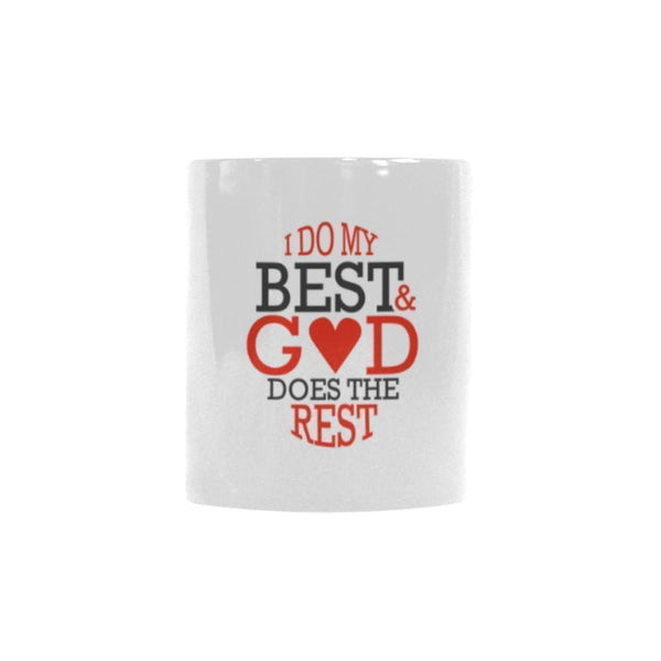 I Do My Best & God Does The Rest Christian Color Changing/Morphing 11oz Coffee Mug-Morphing Mug-One Size-JoyHip.Com