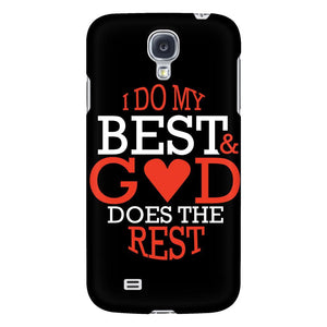 I Do My Best & God Does The Rest iPhone 6/6s/7/7s/8 Plus Case Christian Bible Verses Inspirational Scripture Quote-Phone Cases-Galaxy S4-JoyHip.Com