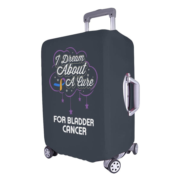 I Dream About A Cure For Bladder Cancer Travel Luggage Cover Suitcase Protector-JoyHip.Com
