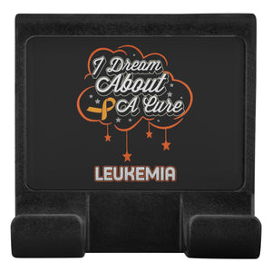 I Dream About A Cure For Leukemia Cancer Phone Monitor Holder For Laptop Desktop-Moniclip-Moniclip-JoyHip.Com