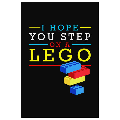 I Hope You Step On A Lego Canvas Wall Art Room Decor Funny Gift Humor Sarcasm-Canvas Wall Art 2-8 x 12-JoyHip.Com