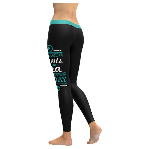 If It Requires Pants Or A Bra Its Not Happening Today Humor Funny Women Leggings-JoyHip.Com