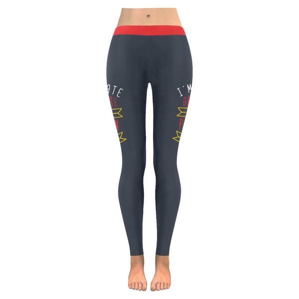 Im Late Because Of The Person I Am Soft Leggings For Women Cute Funny Sarcastic-JoyHip.Com