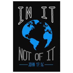 In It Not Of It John 17:16 Christian Canvas Wall Art Room Decor Gift Ideas-Canvas Wall Art 2-8 x 12-JoyHip.Com