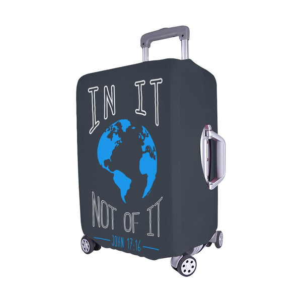 In It Not Of It John 17:16 Christian Travel Luggage Cover Suitcase Protector-JoyHip.Com