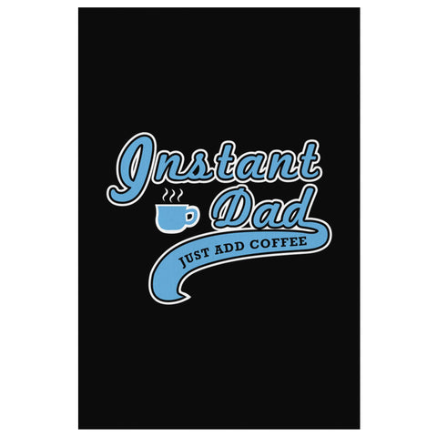 Instant Dad Just & Coffee Funny Gifts For Men Canvas Wall Art Decor Fathers Day-Canvas Wall Art 2-8 x 12-JoyHip.Com