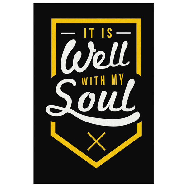 It Is Well With My Soul Christian Canvas Wall Art Room Decor Gift Idea Religious-Canvas Wall Art 2-8 x 12-JoyHip.Com
