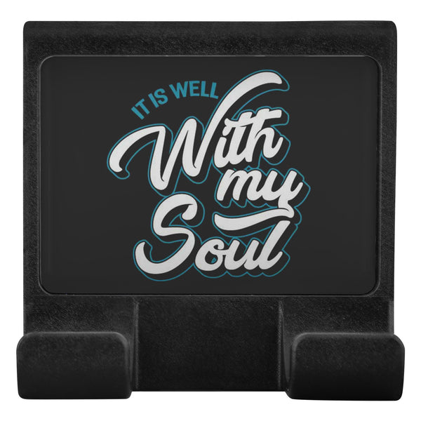 It Is Well With My Soul Christian Cell Phone Monitor Holder For Laptop Desktop-Moniclip-Moniclip-JoyHip.Com