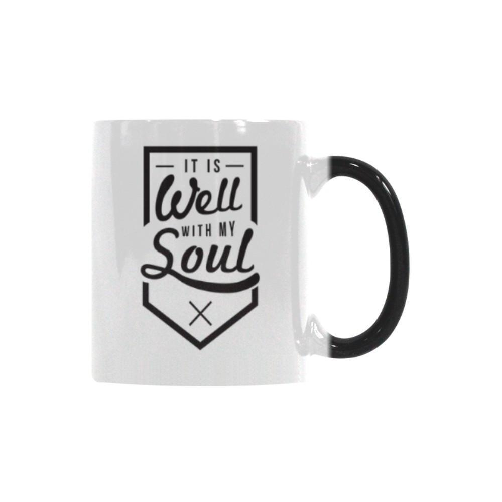 It Is Well With My Soul Christian Color Changing/Morphing 11oz Coffee Mug-Morphing Mug-One Size-JoyHip.Com