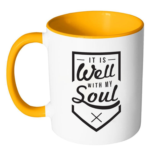 It Is Well With My Soul Christian Religious Gifts 7Colors Coffee Mug-Drinkware-JoyHip.Com