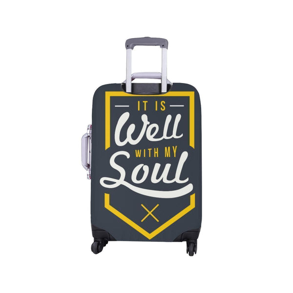 It Is Well With My Soul Christian Travel Luggage Cover Suitcase Protector-JoyHip.Com
