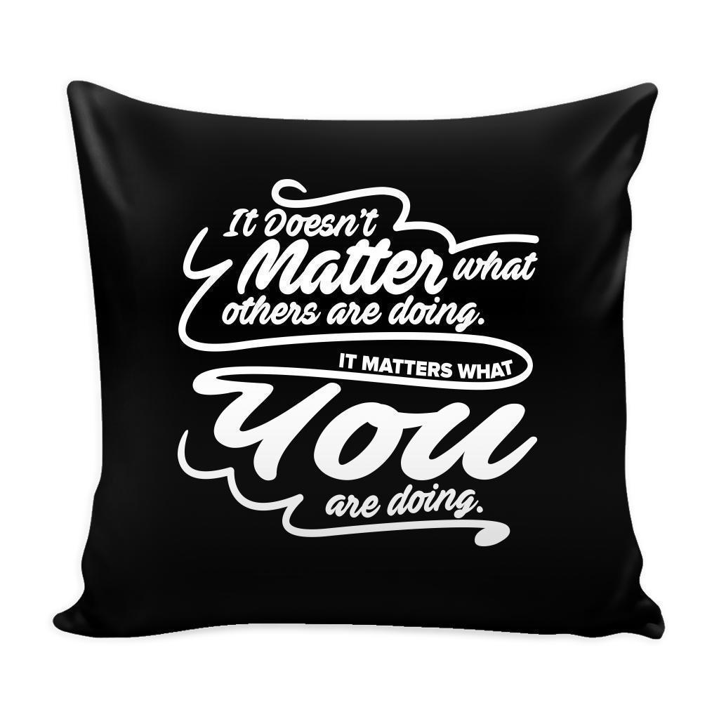 It's OK If You Fall Down And Lose Your Spark Just Make Sure That When You Get Back Up You Rise Inspirational Motivational Quotes Decorative Throw Pillow Cases Cover(9 Colors)-Pillows-Black-JoyHip.Com