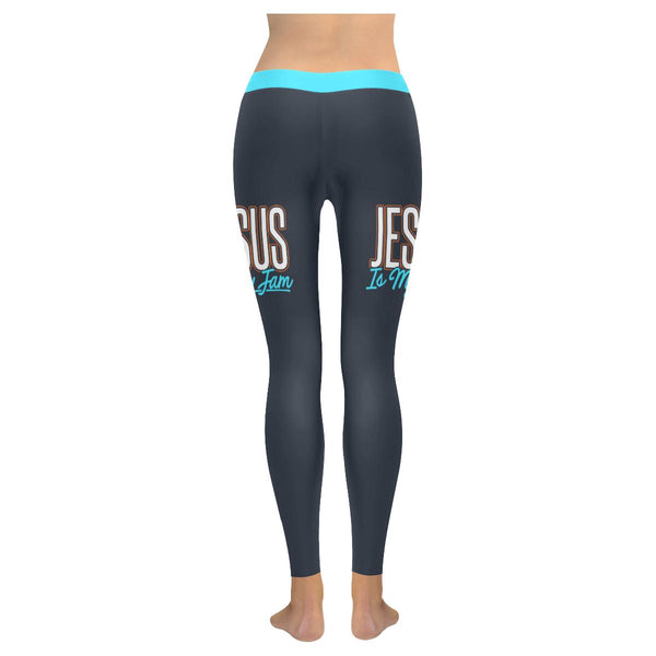 Jesus Is My Jam Soft Leggings For Women Cute Funny Christian Gift Idea Religious-JoyHip.Com