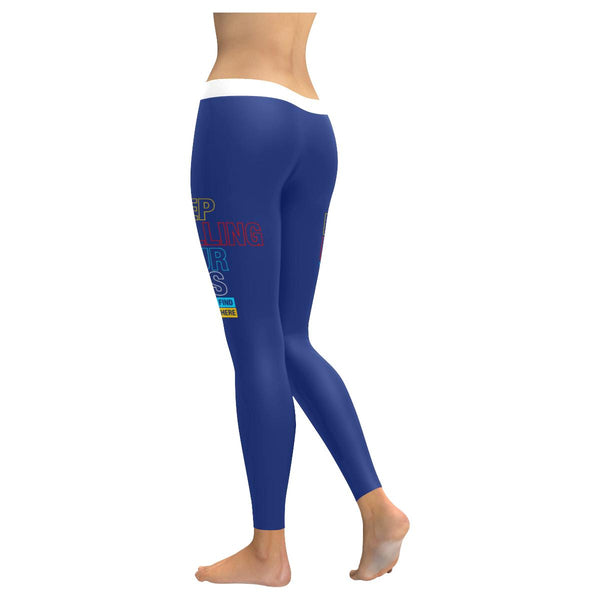 Keep Rolling Your Eyes Maybe Youll Find Brain Back There Soft Leggings For Women-JoyHip.Com