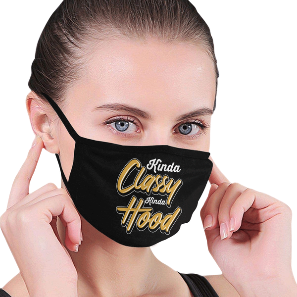 Kinda Classy Kinda Motherhood Washable Reusable Face Mask With Filter Pocket-Face Mask-JoyHip.Com