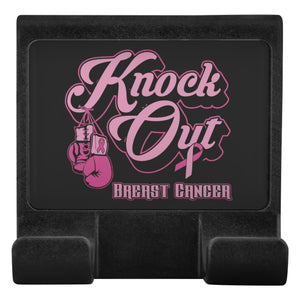 Knock Out Breast Cancer Phone Monitor Holder For Laptop Desktop Gifts Idea-Moniclip-Moniclip-JoyHip.Com