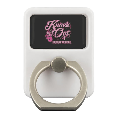 Knock Out Breast Cancer Phone Ring Holder Kickstand Gifts Idea-Ringr - Multi-Tool Accessory-Ringr - Multi-Tool Accessory-JoyHip.Com