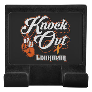 Knock Out Leukemia Cancer Phone Monitor Holder For Laptop Desktop Gifts Idea-Moniclip-Moniclip-JoyHip.Com