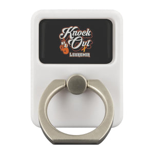 Knock Out Leukemia Cancer Phone Ring Holder Kickstand Gifts Idea-Ringr - Multi-Tool Accessory-Ringr - Multi-Tool Accessory-JoyHip.Com