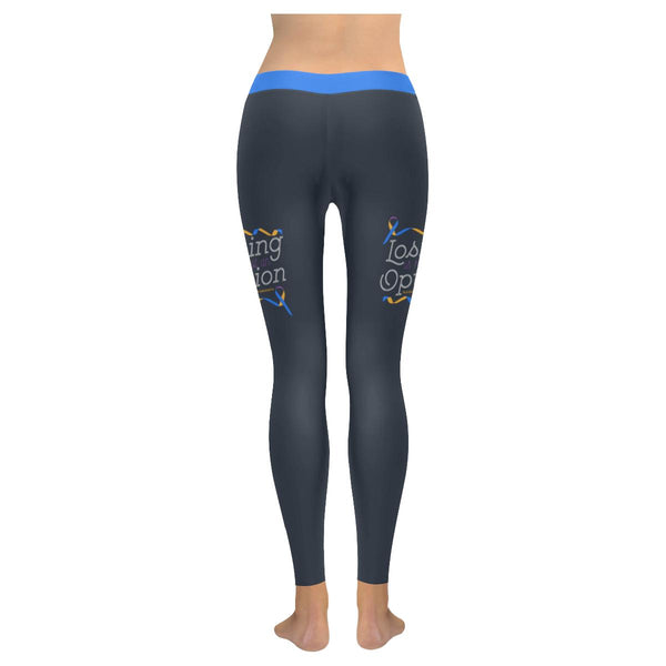 Losing Is Not An Option Bladder Cancer Soft Leggings For Women Gift Ideas-JoyHip.Com