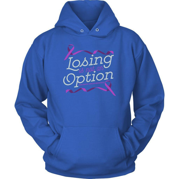 Losing Is Not An Option Pancreatic Cancer Awareness Awesome Gift Ideas Hoodie-T-shirt-Unisex Hoodie-Royal Blue-JoyHip.Com