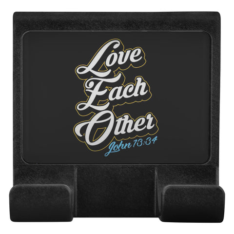 Love Each Other John 13:34 Christian Cell Phone Monitor Holder Laptop Desktop-Moniclip-Moniclip-JoyHip.Com