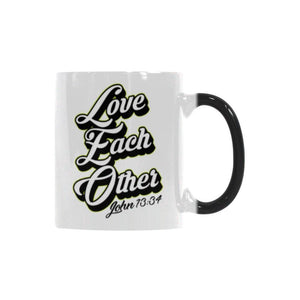 Love Each Other John 13:34 Christian Color Changing/Morphing 11oz Coffee Mug-Morphing Mug-One Size-JoyHip.Com