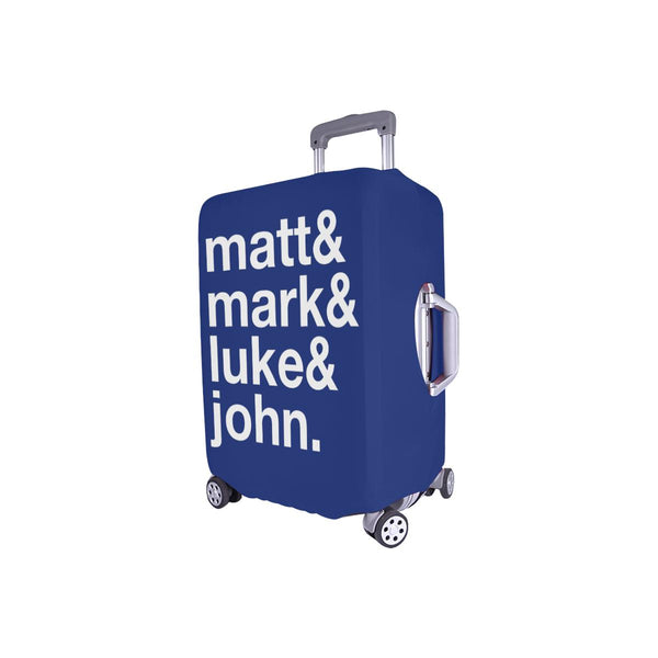 Matt & Mark & Luke & John Christian Travel Luggage Cover Suitcase Protector-JoyHip.Com