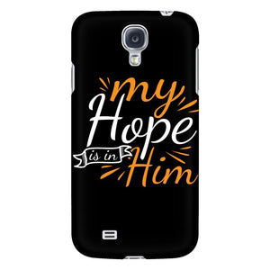 My Hope Is In Him iPhone 6/6s/7/7s/8 Plus Case Christian Bible Verses Inspirational Scripture Quote-Phone Cases-Galaxy S4-JoyHip.Com