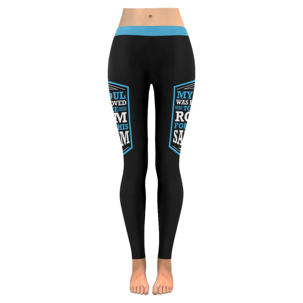 My Soul Was Removed To Make Room For All This Sarcasm Humor Funny Women Leggings-JoyHip.Com