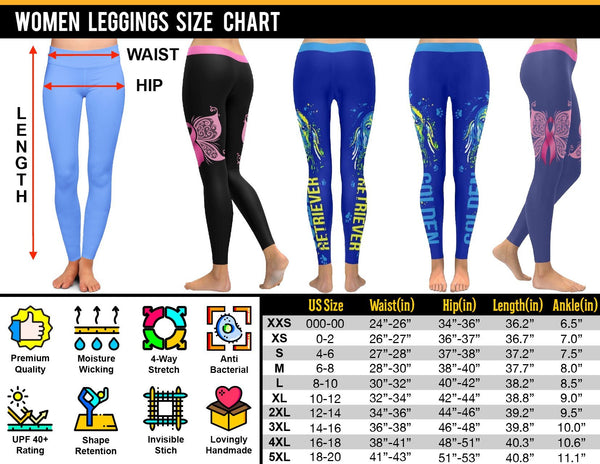 Navy Wife/Mom Low Rise Leggings (2 styles)-JoyHip.Com