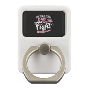 Not Going Down Without A Fight Cure Breast Cancer Phone Ring Holder Kickstand-Ringr - Multi-Tool Accessory-Ringr - Multi-Tool Accessory-JoyHip.Com