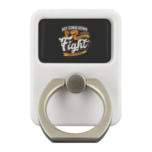 Not Going Down Without A Fight Cure Leukemia Cancer Phone Ring Holder Kickstand-Ringr - Multi-Tool Accessory-Ringr - Multi-Tool Accessory-JoyHip.Com