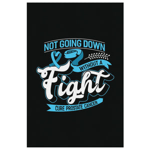 Not Going Down Without A Fight Cure Prostate Cancer Canvas Wall Art Decor Gifts-Canvas Wall Art 2-8 x 12-JoyHip.Com