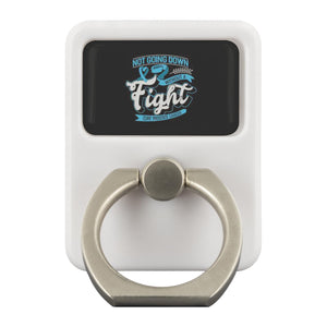 Not Going Down Without A Fight Cure Prostate Cancer Phone Ring Holder Kickstand-Ringr - Multi-Tool Accessory-Ringr - Multi-Tool Accessory-JoyHip.Com