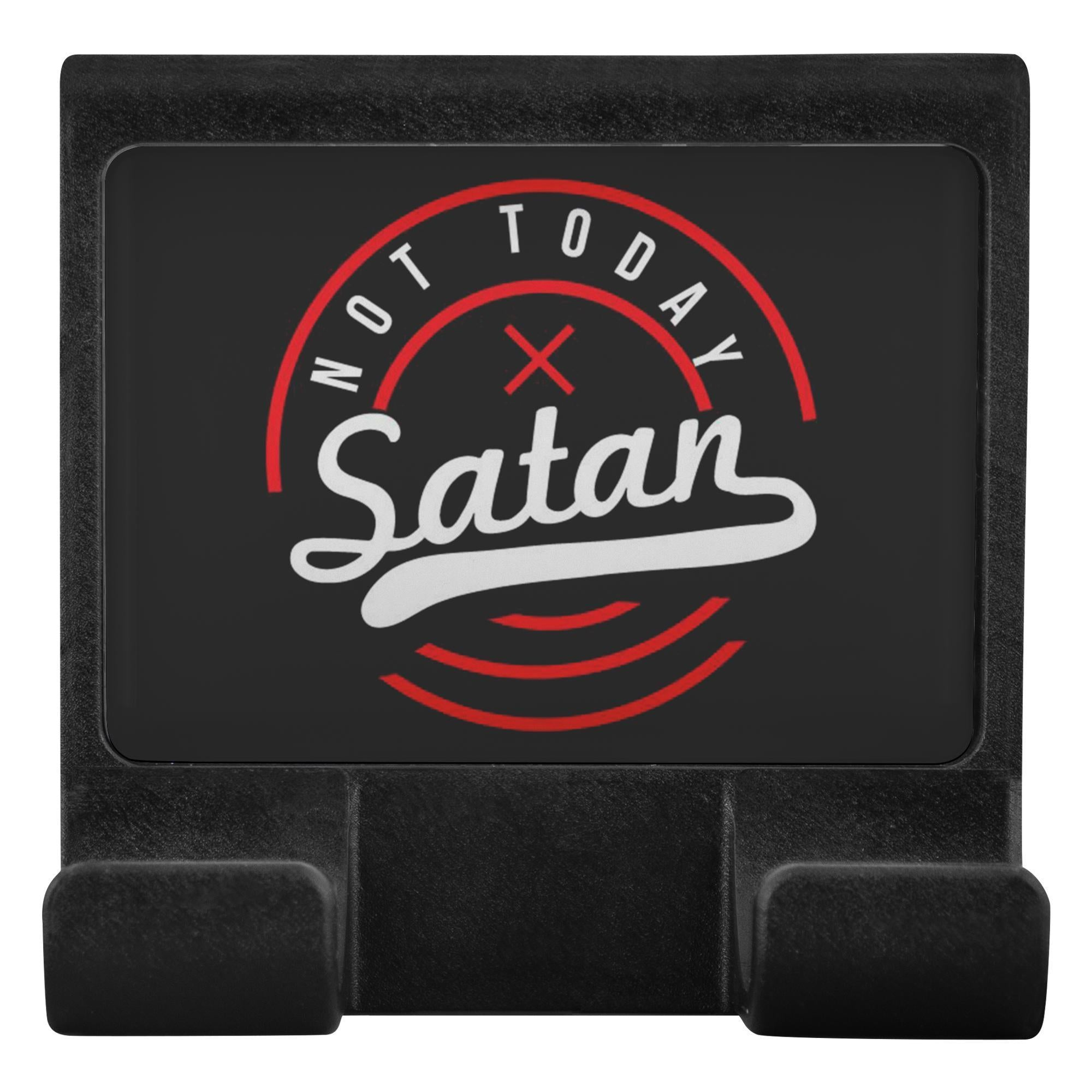 Not Today Satan Christian Cell Phone Monitor Holder For Laptop Desktop Display-Moniclip-Moniclip-JoyHip.Com