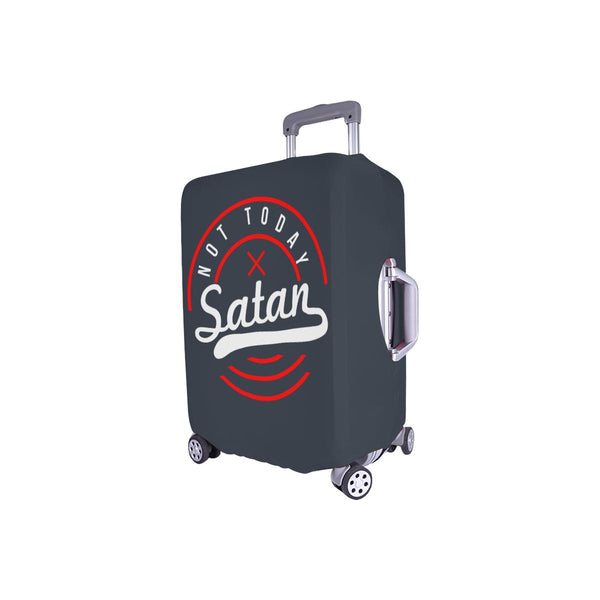 "Not Today Satan Christian Travel Luggage Cover Suitcase Protector Fits 18""-28""-JoyHip.Com"