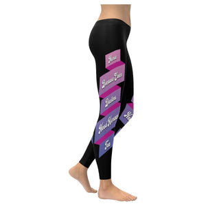 Nurse Because Even Doctor Need Heroes Too RN Registered LPN Womens Leggings-XXS-Black-JoyHip.Com