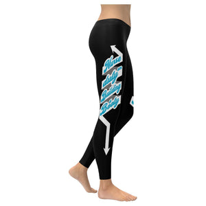 Nurse On Duty Building Booty RN Registered Nurse Practitioner LPN Women Leggings-XXS-Black-JoyHip.Com