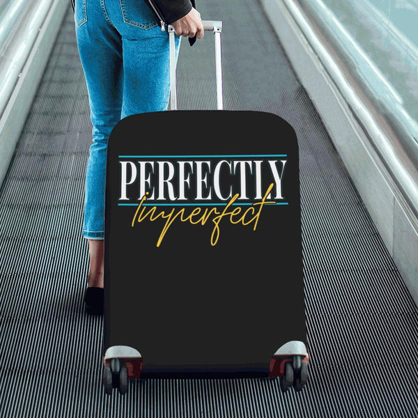 Perfectly Imperfect Christian Travel Luggage Cover Suitcase Protector Fits 18-28-JoyHip.Com