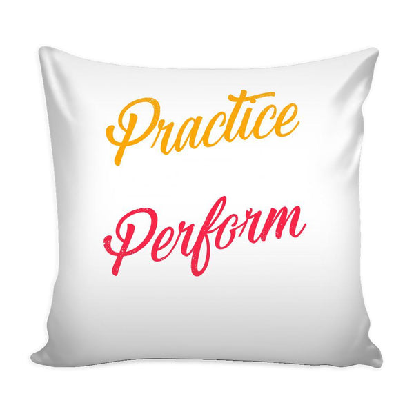 Practice Like You're Never Won Perform Like You're Never Lost Inspirational Motivational Quotes Decorative Throw Pillow Cases Cover(9 Colors)-Pillows-White-JoyHip.Com