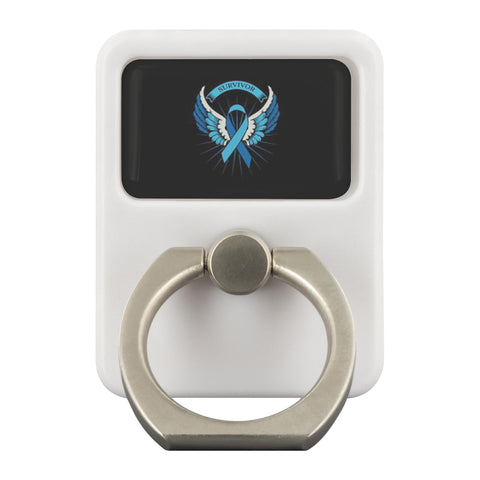 Prostate Cancer Awareness Survivor Angel Wings Phone Ring Holder Kickstand Gifts-Ringr - Multi-Tool Accessory-Ringr - Multi-Tool Accessory-JoyHip.Com