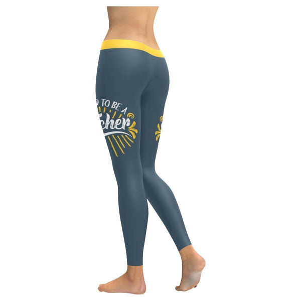 Proud To Be A Teacher Day Meaningful Funny Gift Ideas UPF40+ Womens Leggings-JoyHip.Com