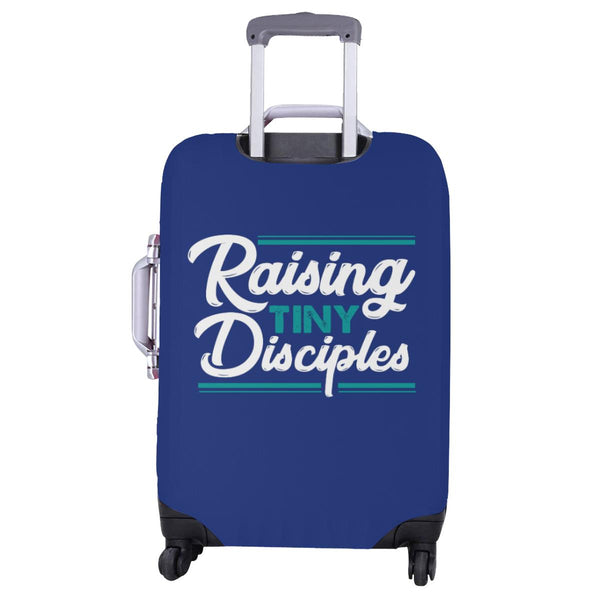 "Raising Tiny Disciples Christian Travel Luggage Cover Suitcase Protector 18""-28""-JoyHip.Com"