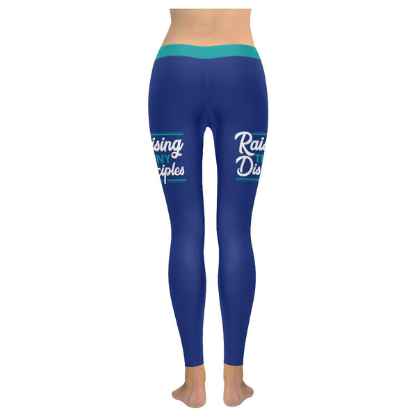 Raising Tiny Disciples Soft Leggings For Women Cool Cute Funny Christian Gift-JoyHip.Com