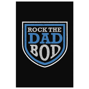 Rock The Dad Bod Funny Gifts For Men Canvas Wall Art Home Room Decor Fathers Day-Canvas Wall Art 2-8 x 12-JoyHip.Com