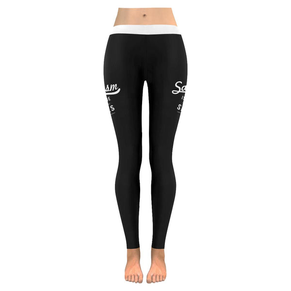 Sarcasm Is Just One Of My Services Soft Leggings For Women Cute Funny Sarcastic-JoyHip.Com